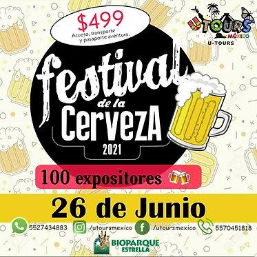 Festival de la cerveza en Bioparque Estrella