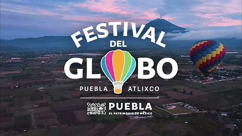 Festival del globo Puebla + Pueblo Mágico