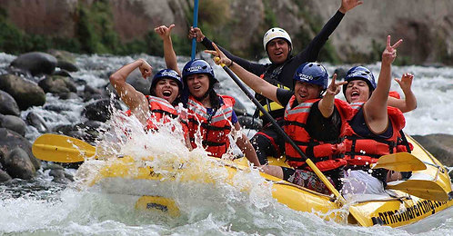 Rafting en Jalcomulco + Orizaba + Teleférico