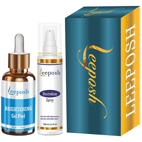 Leeposh Glutathione Peel Skin whitening Lightening Anti pigmentation Insta Glow