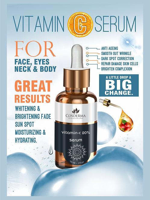 Cosderma Vitamin C serum Anti pigmentation Melasma