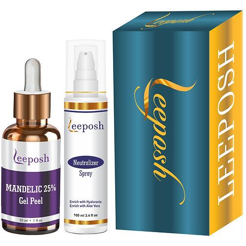 Leeposh Mandelic Acid Peel 25% Acne, Acne scar Reduction Pigmentation
