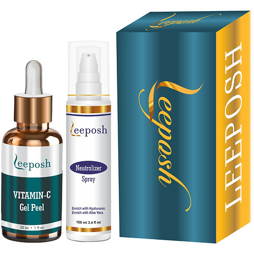Leeposh Vitamin C Peel Glycolic peel Brightening Anti ageing Lightening