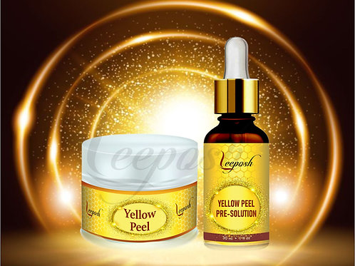 Leeposh Yellow peel Retinol Peel