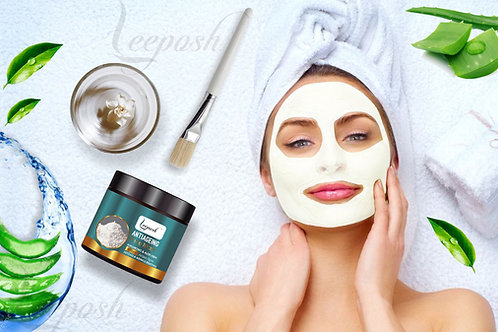 Hyaluronic Acid Face Mask Anti ageing Clay Mask for ageing benefits & Insta glow
