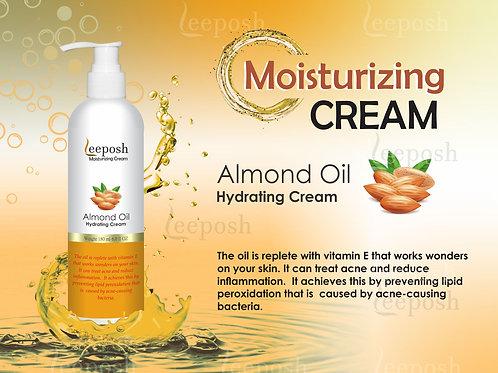 Leeposh Almond Moisturizer Hyaluronic Acid Antiageing Plump Hydrating Brightenin