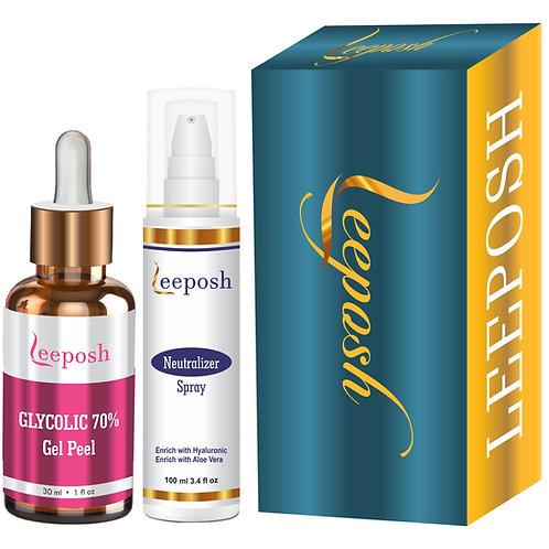 Leeposh Glycolic acid Peel 70%