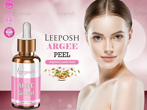 Leeposh Argee Peel Lactic acid Glycolic Acid Arginine Combo Peel Party Peel