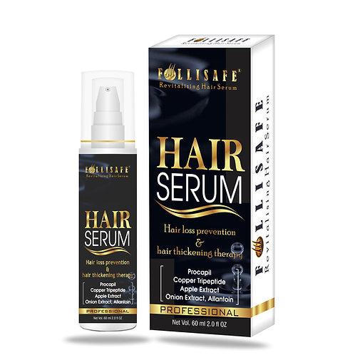 Follisafe Hair Regrowth Serum Procapil Copper tripeptides & Apple Stem cell