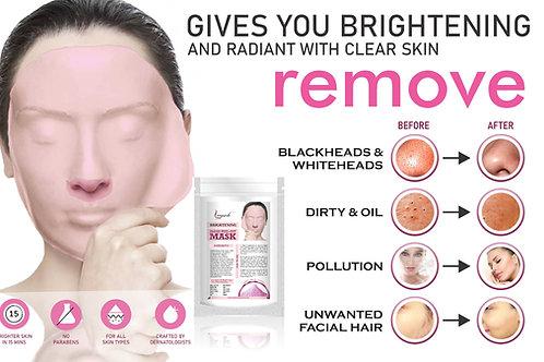 Leeposh Brightening Algae Peel off Mask Post Treatment Use for Whitening Glow