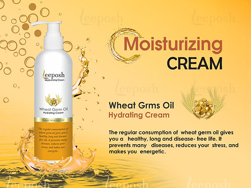 Wheat Germ Oil Moisturizer with Hyaluronic Acid