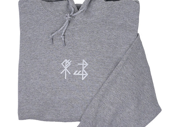 symbol unisex hoodie