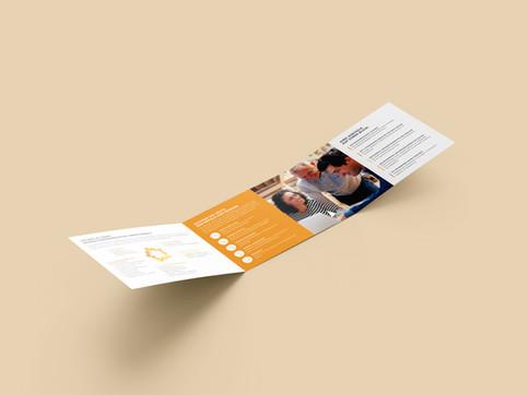Folder Demografieberatung für Beschäftige + Betriebe