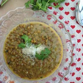 Curry de lentejas y coco