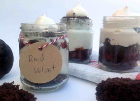 Cupcake Red Velvet Vegano