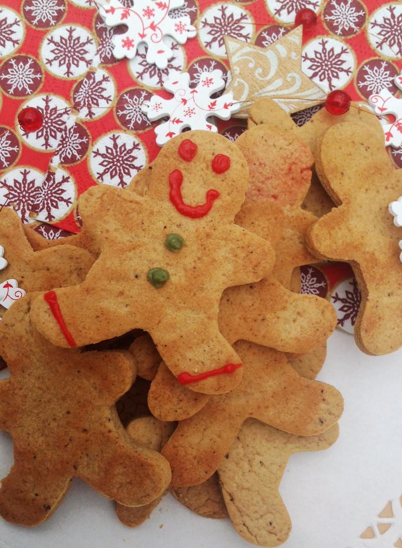galletas veganas de jengibre