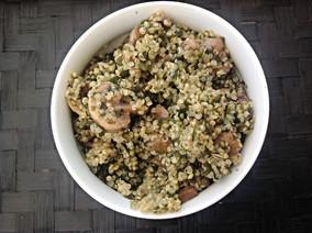 Ensalada de Quinoa con Wakame