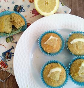 Muffins de jengibre y limón