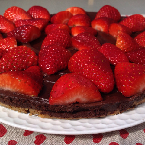 tarta chocolate vegana con thermomix
