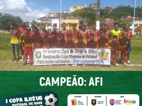 AFI é campeã da I Copa Ilhéus