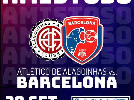 Barcelona de Ilhéus realiza primeiro amistoso em Alagoinhas