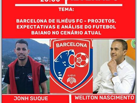 LIVE DO BARCELONA FC TEM HORÁRIO ALTERADO, CONFIRA