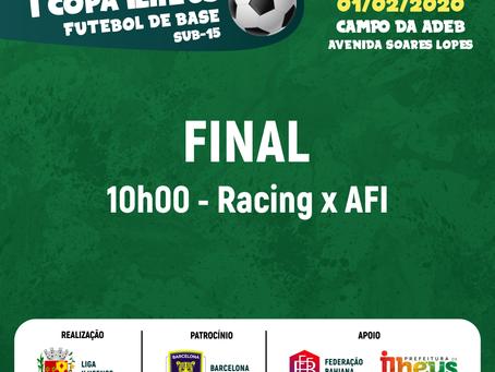 Copa Ilhéus: Racing e AFI fazem a final neste sábado