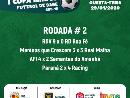 Copa Ilhéus: Rodada #2