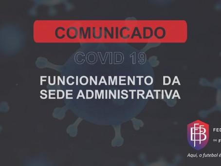 COMUNICADO OFICIAL DA FEDERAÇÃO BAIANA DE FUTEBOL