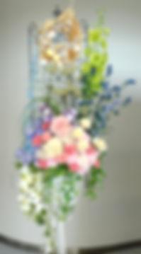 プリザーブドフラワー レンタル装飾ディスプレイ
