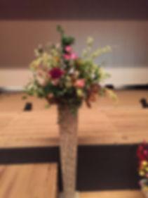 造花アートフラワーのスタンド花