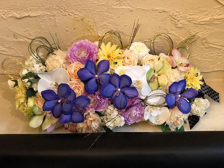 ことし流行、クラシックブルー高級造花アーティフィシャルフラワーのディスプレイ、装飾