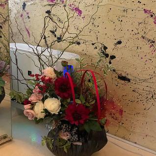 高級造花 装飾 ディスプレイ レンタル