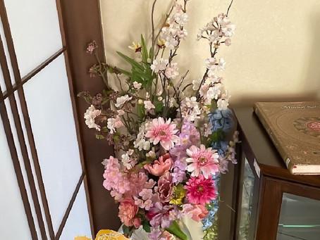 桜の高級造花アーティフィシャルフラワーレンタル