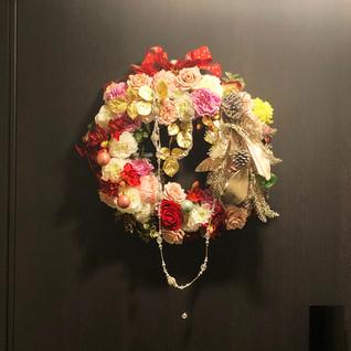 造花リース20191211