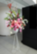 プリザーブドフラワーのレンタル装飾とディスプレイ