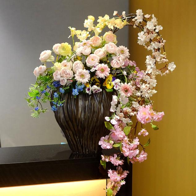 造花レンタル ディスプレイ 装飾