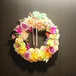 造花リース