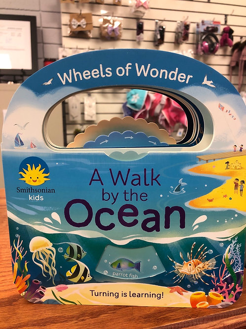 A Walk by the Ocean Board Book