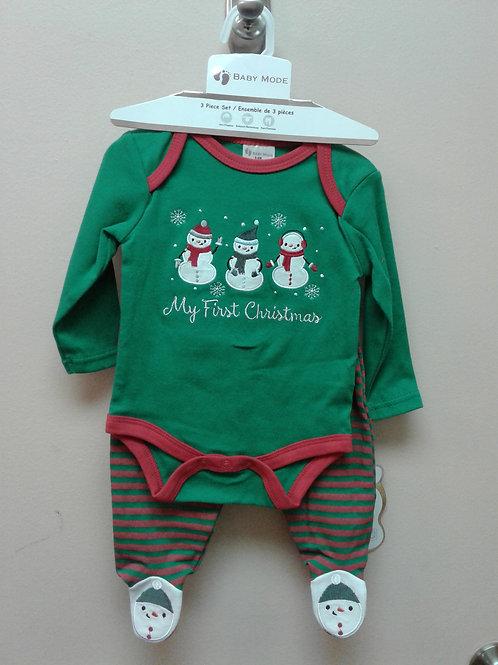 Baby Mode 3 piece Christmas set