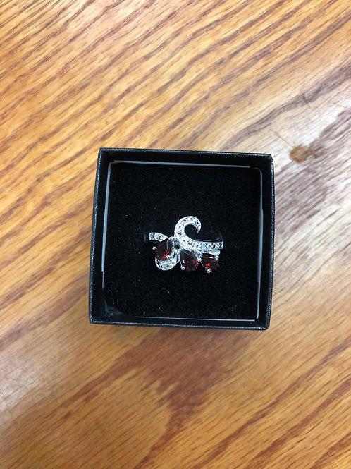 1.35ctw Garnet Ring, Size 7