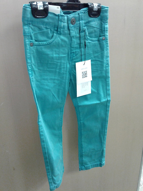 Name It twill pant, turquoise