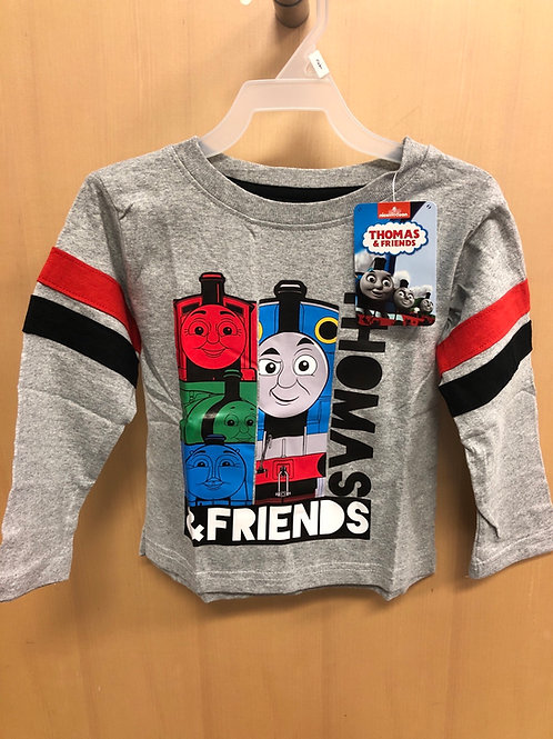 Thomas & Friends L/S Top, 2T-4T
