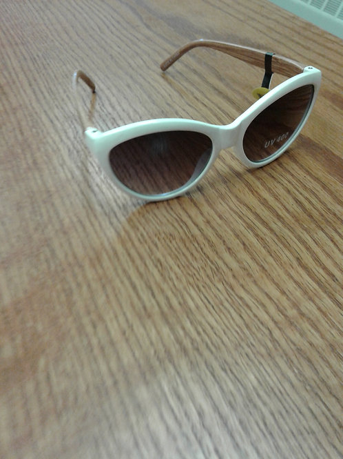Hang Ten white frame sunglasses