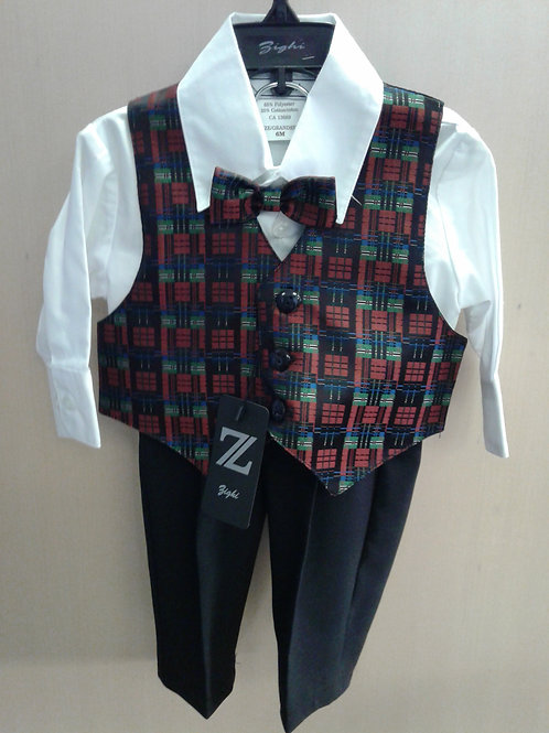 Zighi 4 piece suit