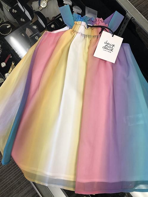 Deux Par Deux Chiffon Dress, 8
