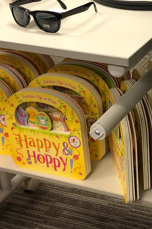 Happy & Hoppy Board Book