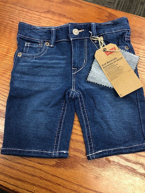 Levi's Knit Bermuda Short, 2T - 6X