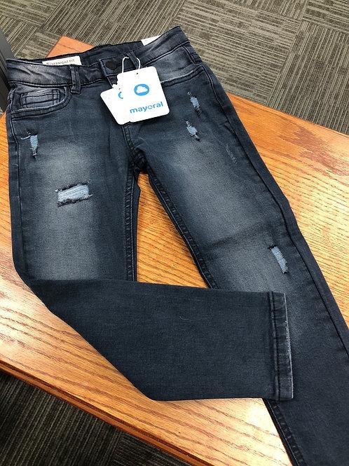 Mayoral Distressed Look Jeans