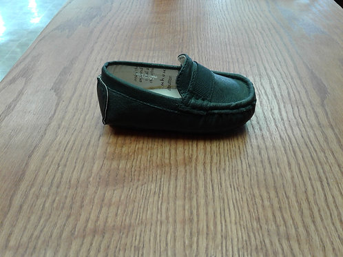 Black dress shoe (infant)